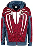 Spiderman Sweatshirt PS4 Game Outfit Hoodie Multicolor-XL