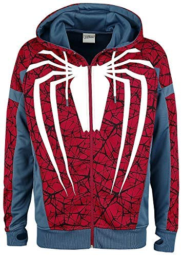 Spider-Man Cosplay Trainingsjacke Multicolour