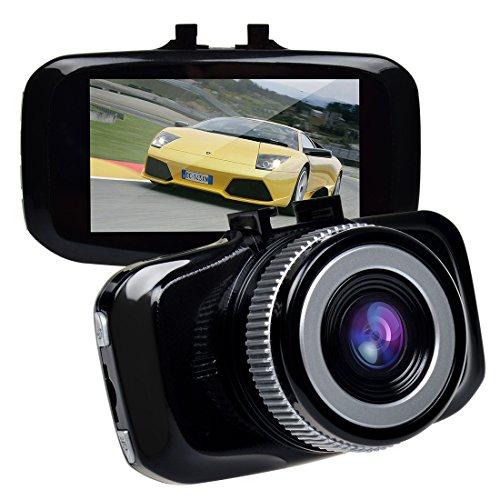TOGUARD F2.0 Big Eye Dashcam Dashboard Camera Black - 2.7