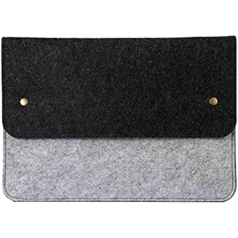 Skitic Custidia Protettiva Sleeve Borsa per Macbook Air & Macbook Pro 13-13.3 Pollici Case Bag (Slimline Mini Mouse)