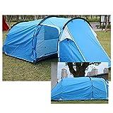 LIGHTOP Familienzelt 2-3 Personen Zelt Wasserdicht Campingzelt Camping Outdoor Bereich Tunnelzelt für Camping Reisen Wandern