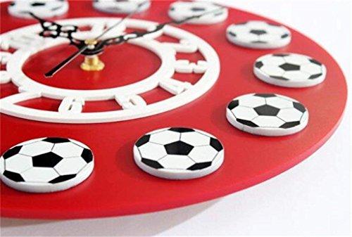 Fußballwanduhr dekorative Uhr
