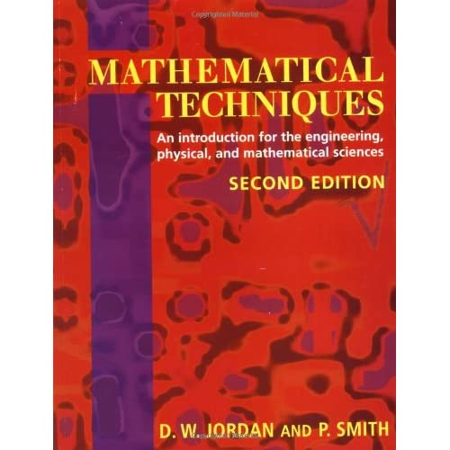 MATHEMATICAL TECHNIQUES. 2ND EDITION