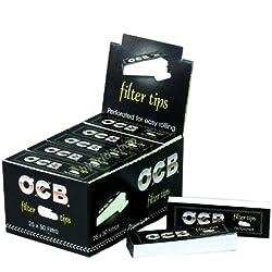 OCB Filtres en Carton Perforés (Lot de 25)