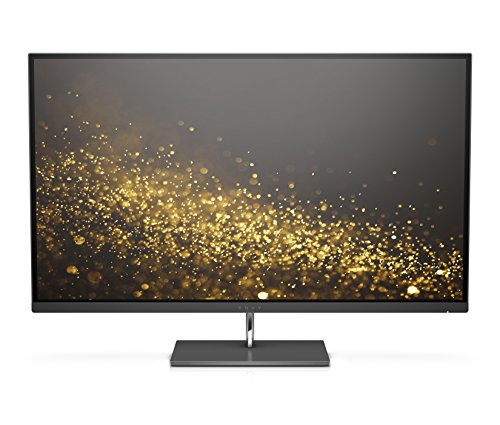 HP ENVY 27 Inch IPS Monitor (AMD FreeSync 3840 x 2160 Pixel Ultra HD (UHD) 5.4ms 60Hz Refresh Rate) - Black