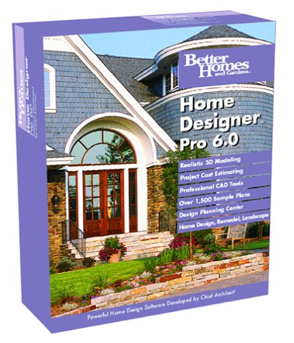 Better Homes and Gardens Home Designer Pro 6.0 - Gardens-software Homes Better And