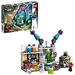 LEGO HiddenSide IlLaboratorioSpettralediJ.B., App per Giochi AR, Playset Multigiocatore Interattivo a Realtà Aumentata per iPhone/Android, 70418  LEGO