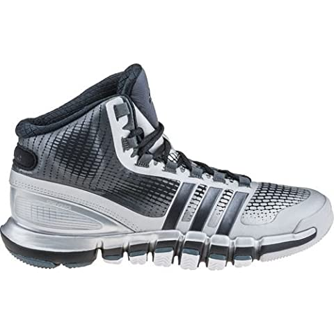 Adidas Adipure Crazyquick scarpe da basket da uomo, Uomo, black /silver, 10.5 UK
