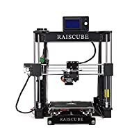 3D Printer Kits,RAISCUBE A8R 3D Printing Machine Desktop DIY Full Aluminum ,High Precision Fastest Speed Professional - Black