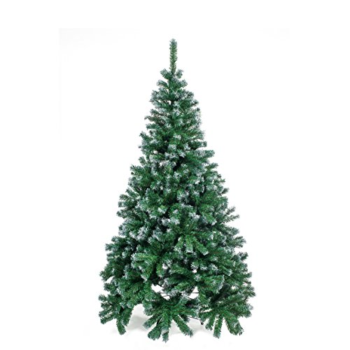 Home Christmas Albero Natale, PVC, Verde, 180 cm