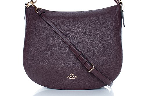 Coach Hobo Bag Chelsea, Smooth Calf Oxblood (Coach Hobo)