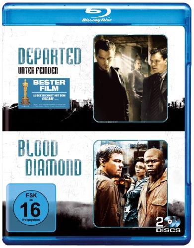 Bild von Departed - Unter Feinden & Blood Diamond (2 Discs) [Blu-ray]