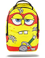 Sprayground Teenage Mutant Spongebob Turtle Backpack - Yellow