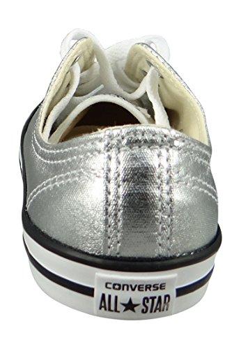 Echangez Mandrini Dainty 553462C All Star Saison métallo puro Bianco Nero Argento Pure Silver Black White