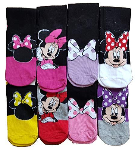 Disney. - Calcetines - para mujer Multicolor Pack de 3 asst 3