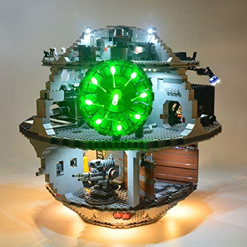 TETAKE Beleuchtung LED Licht Kit für Lego 75159 - Light Beleuchtungsset für Lego Death Star (Nicht Enthalten Lego Modell)