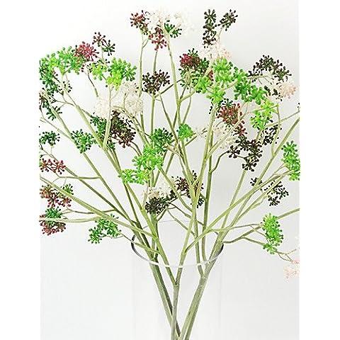 Home decorazione di fiori artificiali, piccole Viburnum frutto dell