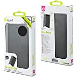 Muvit MUSLI0498 Etui folio Slim pour Alcatel One Touch Pop C7 Noir