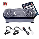 Roneyville Ultra Compact Thin Vibration Power Plate with USB Music Player – Xtreme