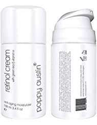 Retinol Cream for Day & Night by Poppy Austin - TRIPLED SIZED 100ml - Cruelty-Free, 2.5% Retinol, Vitamin E, Green Tea & Shea Butter - Anti Ageing Face Moisturiser & 2018 Best Wrinkle Cream