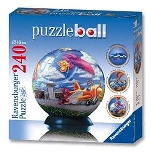 Ravensburger 11014 Puzzleball - Puzzle esférico de Aviones (240 Piezas)