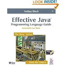 Effective Java™ Programming Language Guide (Java Series (Old Edition))