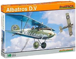 Eduard Plastic Kits 8112 Albatros D.V ProfiPack - Avioneta a escala 1:48 Importado de Alemania