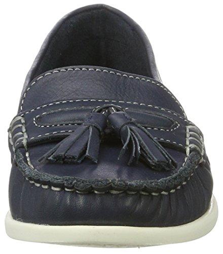 Bianco Damen Tassel Sailor Loafer 25-49248 Mokassin Blau (Navy Blue)