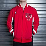 Mitchell & Ness Chicago Bulls 1992-1993 Authentic Warm Up Jacke Rot L