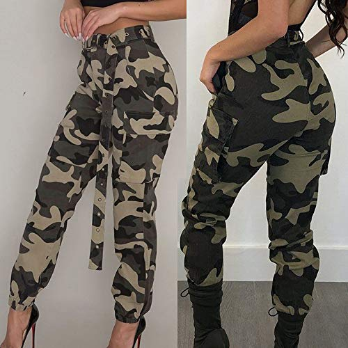 ❤️ GreatestPAK Newest! Women's Military Army Combat Camouflage Pants Camo Cargo Casual Trousers