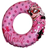 Minnie Mouse Inflatable Swim Ring 51cm Age 3-6 Kids Childrens Pink