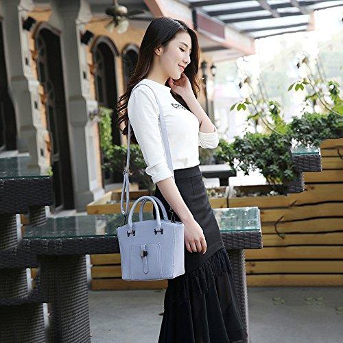 SHUhua - Borsa a tracolla donna dark blue