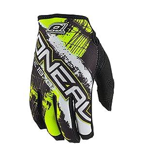 O'Neal Handschuhe Jump Shocker, Fahrrad, Herren L Schwarz/neongelb