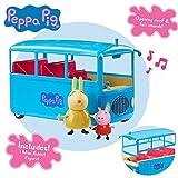 Peppa Pig Autobús Escolar Sonido y Figuras