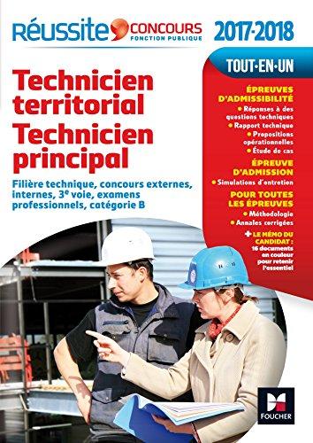 Réussite Concours Technicien territorial - Technicien principal Catégorie B 2017-2018 Nº60 par Laurence Bréus