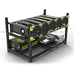 Veddha Minercase V3C Structure 6 GPU pour votre RIG de minage