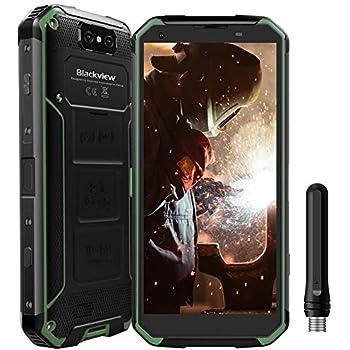 Blackview BV9500 Pro Movil Antigolpes 10000mAh 128GB ROM Teléfono Resistente Walkie-Talkie 4G Smartphone Dual SIM con Carga Inlámbrica, 5.7FHD+ Cámara ...