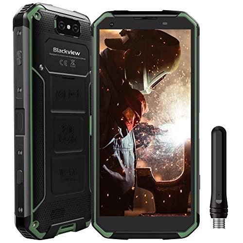 "Blackview BV9500Pro Robustes Handy, Walkie-Talkie IP68/IP69K Outdoor Handy ohne Vertrag 10000mAh mit Wireless Charging, 6GB+128GB Android 8.1 Smartphone, 5.7"" FHD+, 13MP+16MP, [4G Global] Grün"