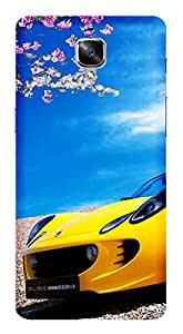 TrilMil Printed Designer Mobile Case Back Cover For OnePlus 3T