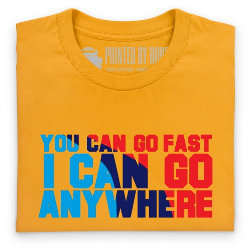 Go Anywhere T-shirt, Uomo Giallo