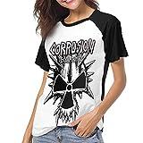 Photo de Kmehsv T-Shirt à Manche Courte Femme, Corrosion of Conformity Womans Women's Baseball Short Sleeves Loose Short SleeveStylish T Shirts par Kmehsv