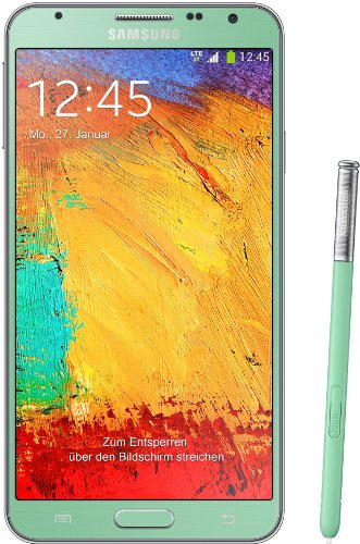 Samsung Galaxy Note 3 Neo Smartphone (13,94 cm (5,49 Zoll) Super AMOLED-Touchscreen, 1,3 GHz Quad-Core-Prozessor, 8 Megapixel Kamera, Android 4.3) grün