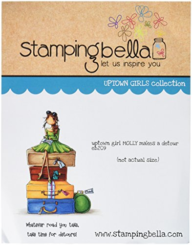 stamping-bella-rubber-cling-stamp-65-inch-x-45-inch-uptown-girl-molly-makes-a-detour
