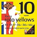 2 confezioni Rotosound corde per chitarra elettrica 10 46 r-10-2
