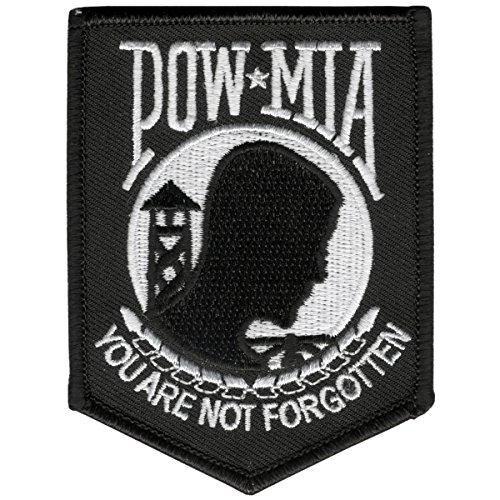 hot-leathers-pow-mia-you-are-not-forgotten-embroidered-iron-on-saw-on-rayon-patch-3-x-4