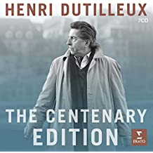 Henry Dutilleux-the Centenary Edition