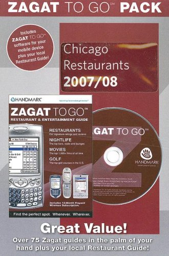 Zagat to Go Pack: Chicago Restaurants with CDROM (Zagat to Go Packs)
