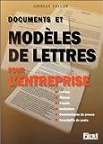 Documents et Modèles de lettres pour l'entreprise...