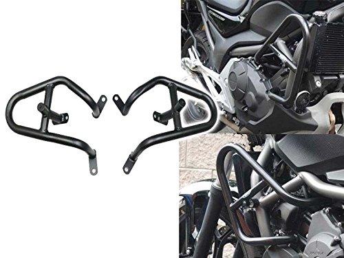 Preisvergleich Produktbild Motorrad matt schwarz crash Bar Bars Motor Rahmen Rahmen Schutzfolie für 2012–2016 Honda NC 750 700 x s NC700S NC700 X NC750 X nc750s 2013 2014 2015 12–16
