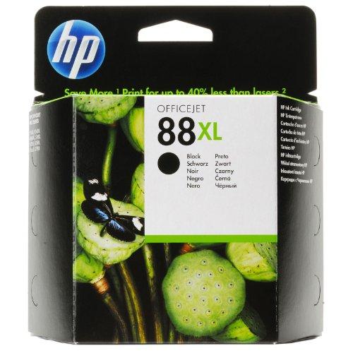 Hp Drucker-tinten L7680 (HP 88XL Schwarz Original Druckerpatrone mit hoher Reichweite für HP Officejet Pro)